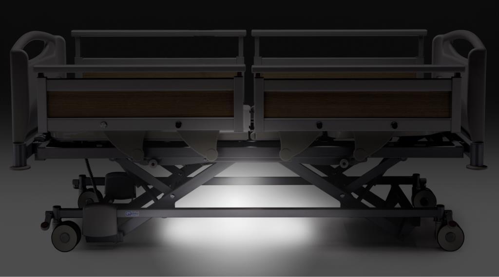 Letto flexo hosp sponde 4 settori piani in abs for Piani di luce biliardo
